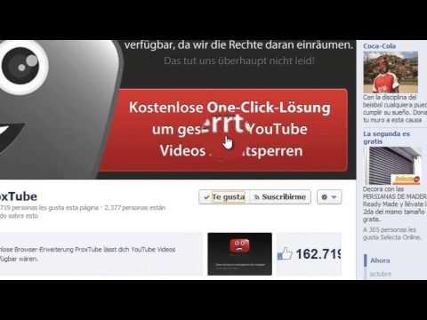 Como ver vídeos de youTube bloqueados en tu País 2014