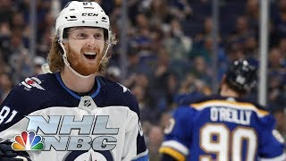 NHL Stanley Cup Playoffs 2019: Jets vs. Blues | Game 3 Highlights | NBC Sports