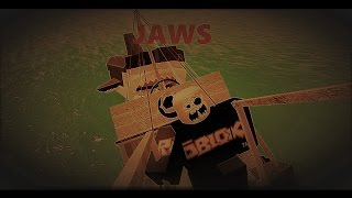 JAWS   Playing in the old days of roblox   Roblox  