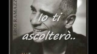 """Eros Ramazzotti - """"Parla con me"""" Con testo"""