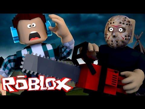 Roblox - ASSASSINO NO ACAMPAMENTO !! ( Roblox Escape Camp )
