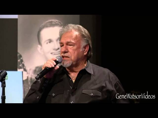 GENE WATSON - When A Man Can&#039;t Get A Woman Off His Mind - LIVE CFR
