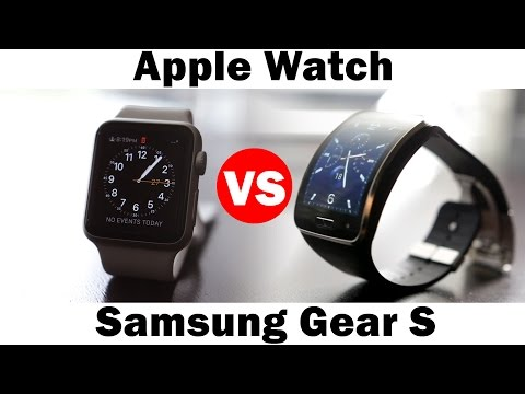 Apple Watch vs Samsung Gear S - SmartWatch Comparison