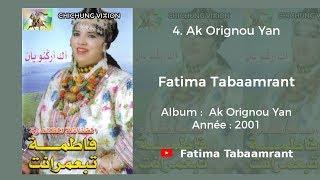 Fatima Tabaamrant : Ak Orignou Yan