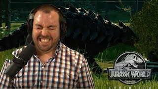 Der Weg zum T-Rex | Jurassic World Evolution 01 (edit. Gameplay)
