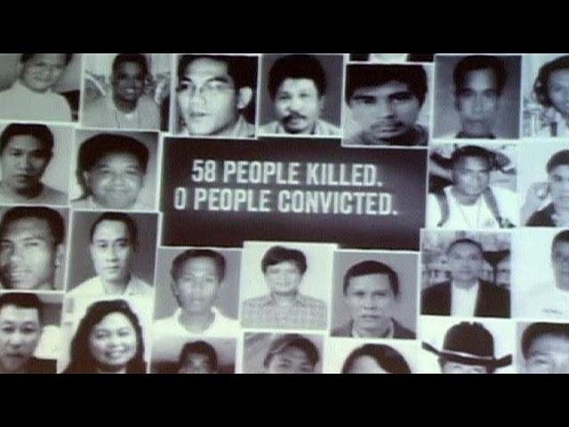 Homenaje en Filipinas a 32 periodistas asesinados a 2009