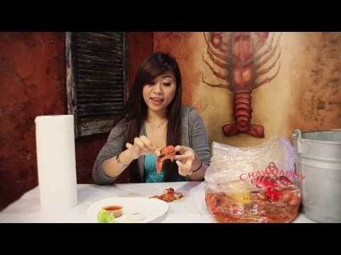How to eat Crawfish. http://www.Crawdaddysj.com.