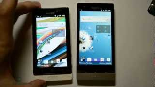 Sony Xperia P vs Xperia Sola_   (test)