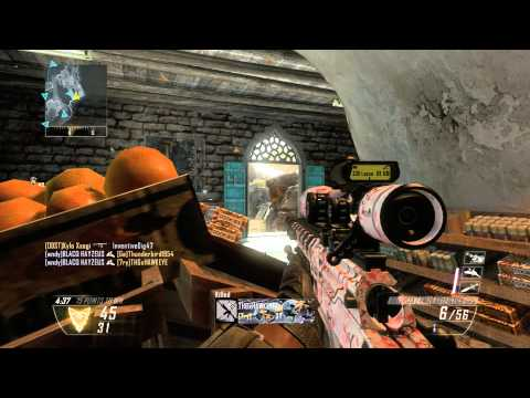25 KILLS ZERO DEATHS BLACK OPS 2 YEMEN 1080 P HD
