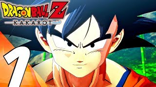 DRAGON BALL Z KAKAROT - Gameplay Walkthrough Part 1 - Prologue (Full Game) PS4 PRO