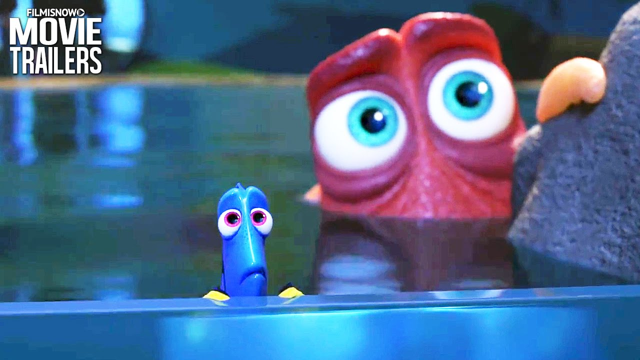 Meet the young version of the 'forgetful fish' in the new FINDING DORY Trailer [HD]