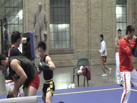China and Iran Sanshou Warm up Image 1
