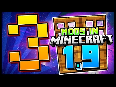 3 Small but Handy Minecraft 1.9 Mods You Should Have!