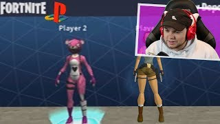 PLAYING Fortnite on the PLAYSTATION 1... (Gameplay Reaction)