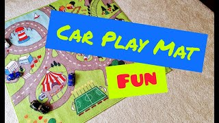 Car Play Mat Fun   IKEA Childrens Rug   VW Beetle Cars