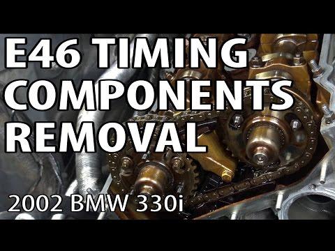 BMW E46 Timing Components Removal #m54rebuild 7