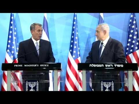 Statements by PM Netanyahu and House Speaker John Boehner