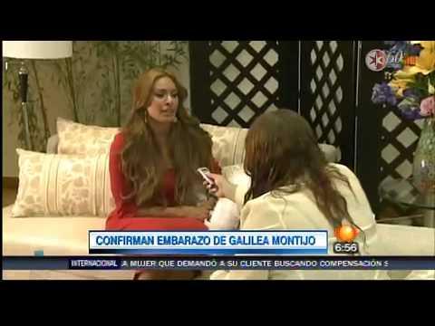 Galilea Montijo se caso embarazada. Ella lo confirma a revista hola ...