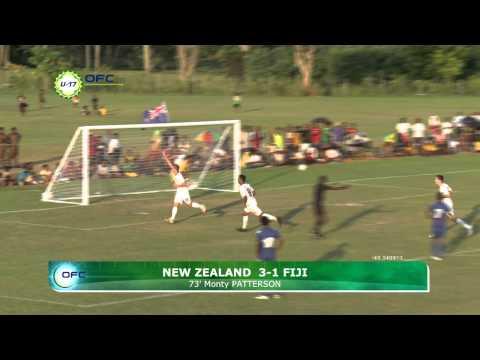 2013 OFC U 17 Championship Day 4 New Zealand vs Fiji Highlights