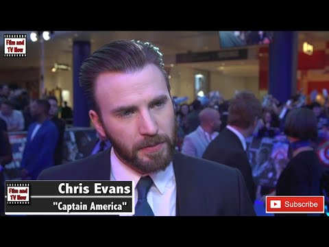 Chris Evans Captain America Civil War European Premiere Interview