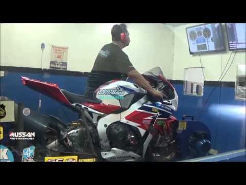 Honda CBR1000RR Fireblade PC5 Dyno Tuning - Motodynamics Technology Malaysia