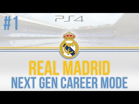 Next Gen FIFA 14: Real Madrid Career Mode - Part #1 - AMAZING TEAM! (2015)