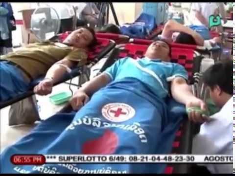 Balitang ASEAN: Laos, nakiisa sa pagdiriwang ng 'World Blood Donor Day'  | Aug. 14, 2015