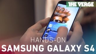 Galaxy S4 hands-on demo
