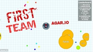 | Agar.io | First | Team | GAMEPLAY EXPERİMENTAL MODE |