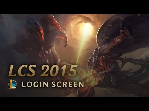 LCS 2015 Season - Login Screen