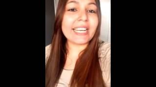 Missionaria Nathalia Leandro  Mensagem de Deus para o seu coraçlão