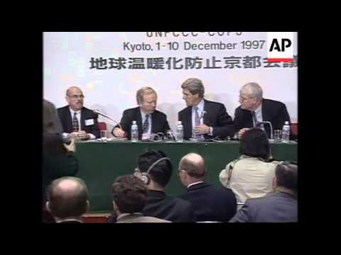 JAPAN: KYOTO: CLIMATE CONFERENCE: DEAL ON GREENHOUSE GAS CUTS