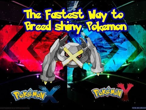 Fastest Way To Breed Shiny Pokemon (Pokemon X and Pokemon Y)