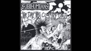 Watch Subhumans No More Gigs video