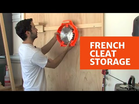 106 - How to Build a French Cleat Storage System