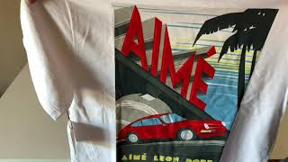Aime Leon Dore Summer Collection Victory Lap Tee Review!