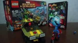 LEGO; 76017 Captain America vs. Hydra
