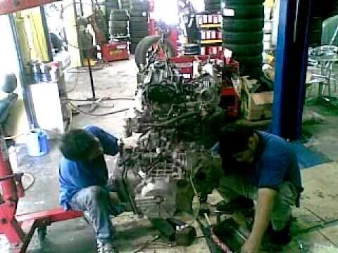 repair kereta proton waja 2