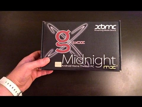 G-Box Midnight MX2 - Unboxing & First Impression