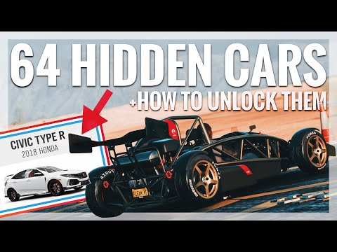 Forza Horizon 4 | 64 Hidden Cars & How To Unlock Them (Wheelspin/Forzathon +All Barnfind Locations)