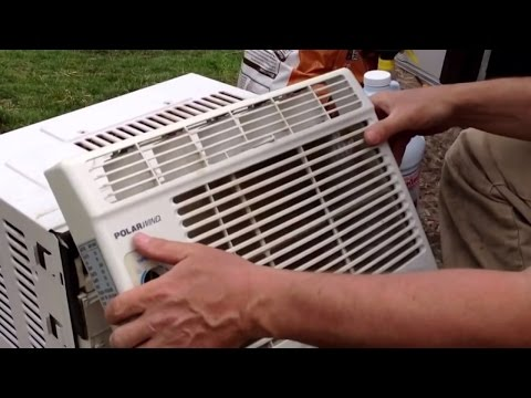 How to Clean a Window Air Conditioner