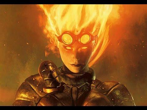 Chandra, Fire of Kaladesh (spell slinger) edh commander mtg deck (Updated Version!)