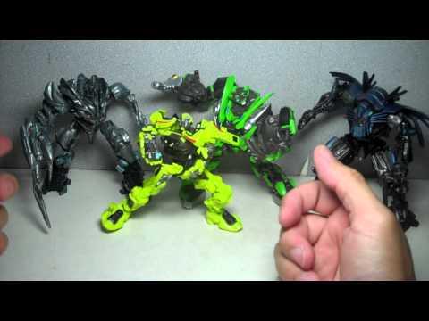 Transformers ROTF Robot Replicas Megatron Ratchet Skids Jetfire