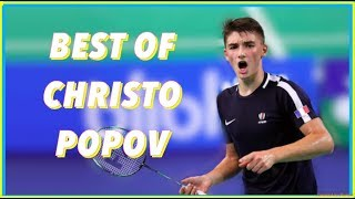 Best of Badminton rallies of Christo POPOV (U17) in 2017