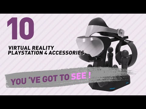 Top 10 Virtual Reality Playstation 4 Accessories Collection // Video Games 2017