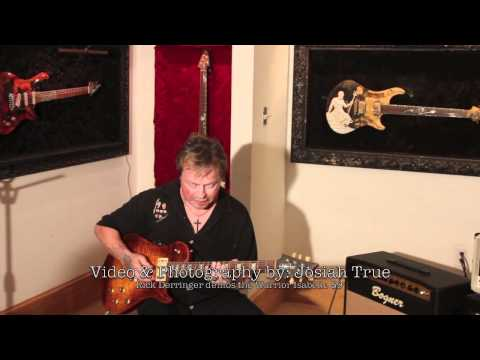 Rick Derringer Demos the NEW Warrior ISABELLA 59' Guitar on Channel 9 News Hang on Sloopy