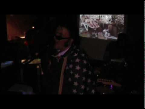 Joan Of Arse playing Born In The USA at a Womens Aid benefit Eighties night ...