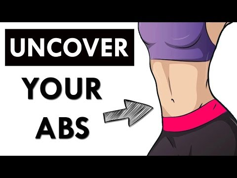 Uncover Your Abs: 11 Minute Small Waist & Flat Stomach Workout