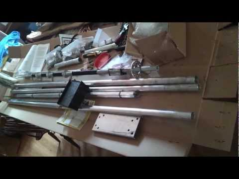 New Hy-Gain AV-680 ham radio antenna (unboxing)