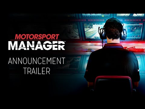 Motorsport Manager Announcement Trailer (International Version)